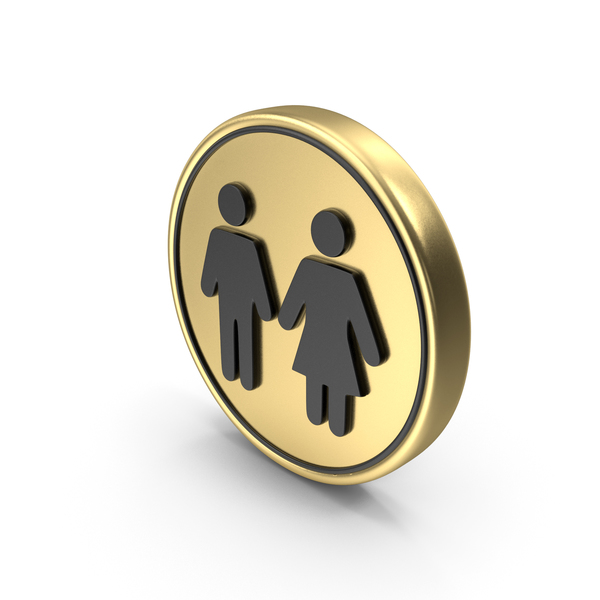 Restroom Coin Symbol Logo Icon PNG & PSD Images