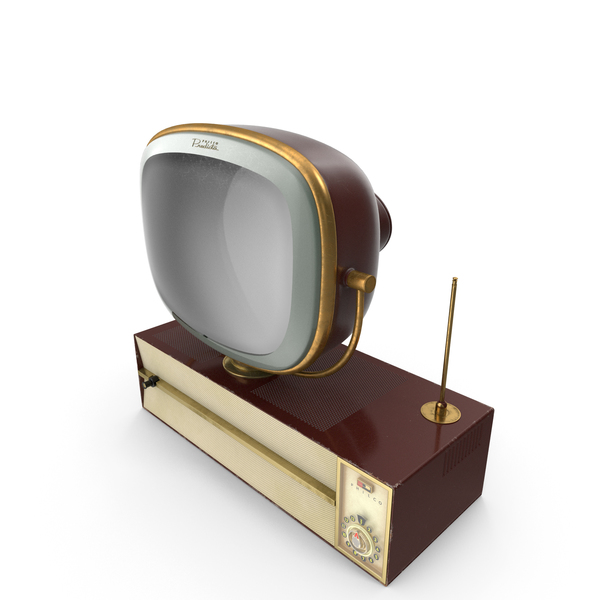 Retro 1959 Philco Predicta Princess Swivel TV PNG & PSD Images