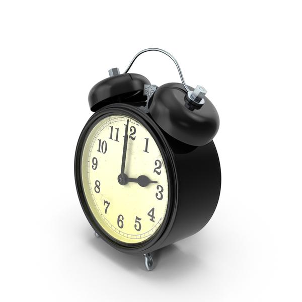 Retro Alarm Clock PNG & PSD Images