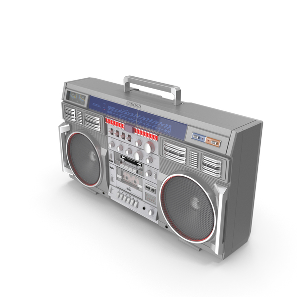 Retro Boombox Conion C-100F PNG & PSD Images