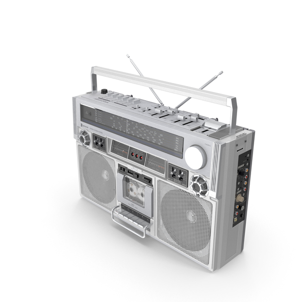 Retro Boombox JVC PNG & PSD Images