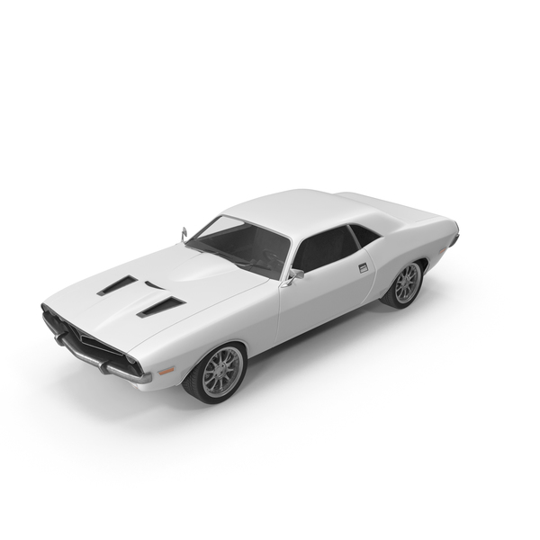Retro Car White PNG & PSD Images