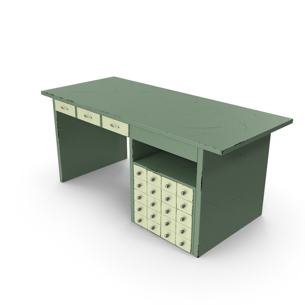 Retro Desk PNG & PSD Images