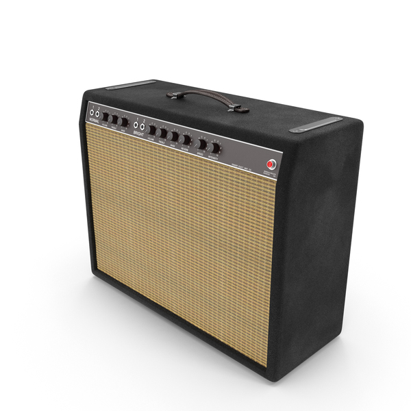 Retro Guitar Amp Object