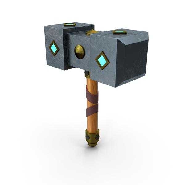 Sledgehammer: Retro Hammer PNG & PSD Images