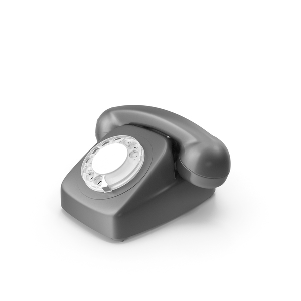 Retro Phone Disc PNG & PSD Images
