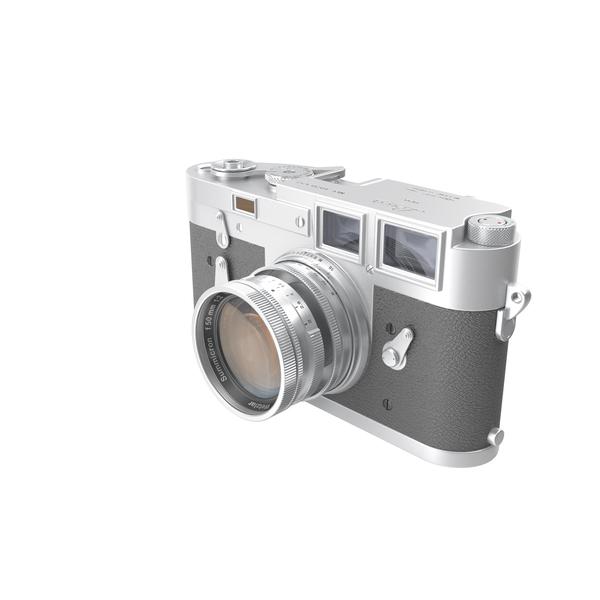 Retro Photo Camera Leica M3 PNG & PSD Images