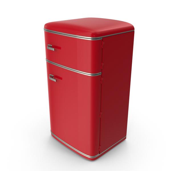 Retro Refrigerator PNG & PSD Images