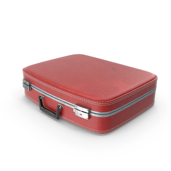 Retro Suitcase Object
