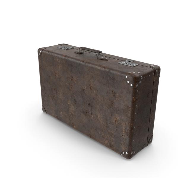 Retro Suitcase PNG & PSD Images