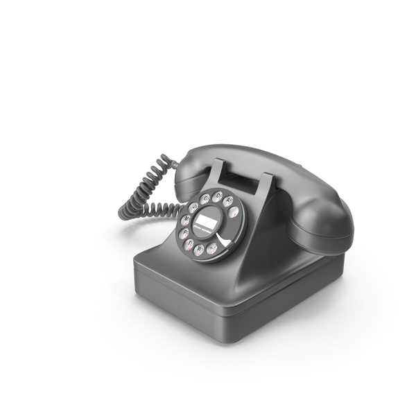 Retro Telephone PNG & PSD Images