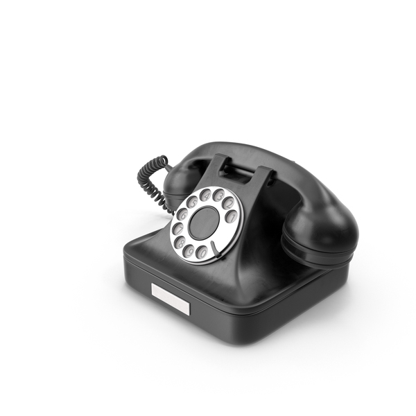 Rotary Phone: Retro Telephone PNG & PSD Images