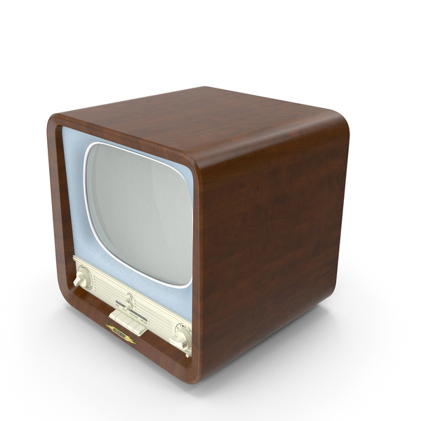 Retro TV Rubin 102 PNG & PSD Images