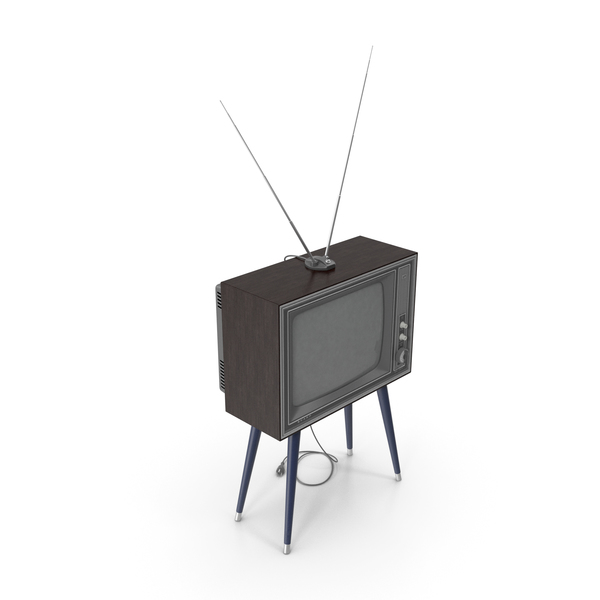 Retro TV Sharp IER-C7 PNG & PSD Images