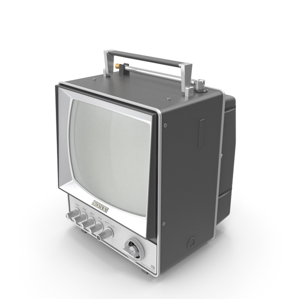 Retro TV Sony PNG & PSD Images