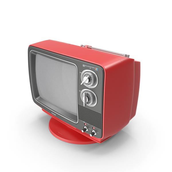 Retro TV Toshiba Blackstripe C355C PNG & PSD Images
