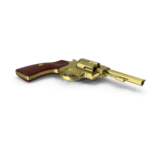 Revolver Gold PNG & PSD Images