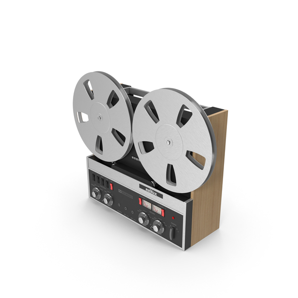 Reel To: Revox Vintage Tape Recorder PNG & PSD Images