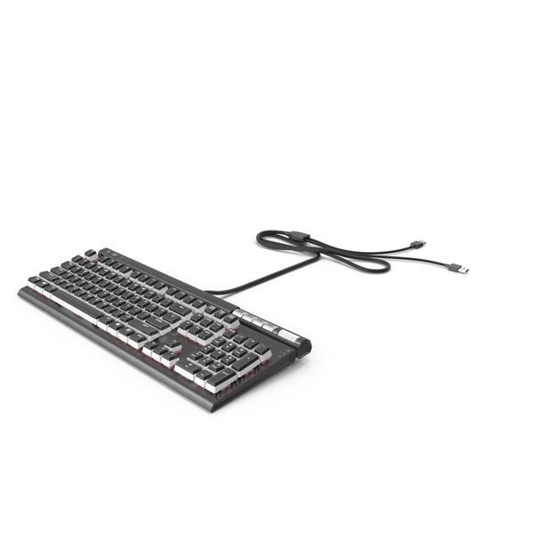 Computer: RGB Mechanical Gaming Keyboard PNG & PSD Images