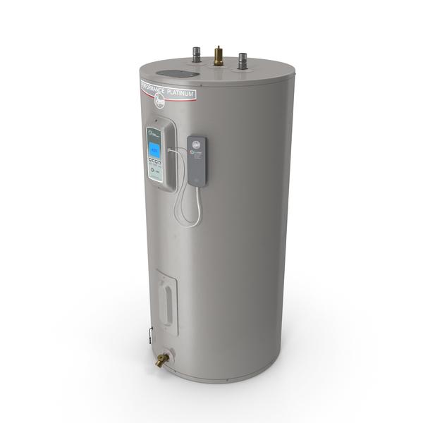 Rheem Performance Platinum 50gal Smart Tank Electric Heater PNG & PSD Images