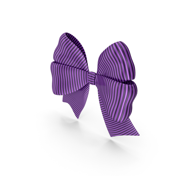 Ribbon Bow Gift Decorative Purple PNG & PSD Images