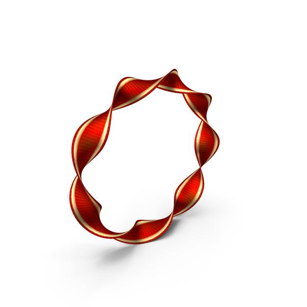 Ribbon Circular Twisted PNG & PSD Images