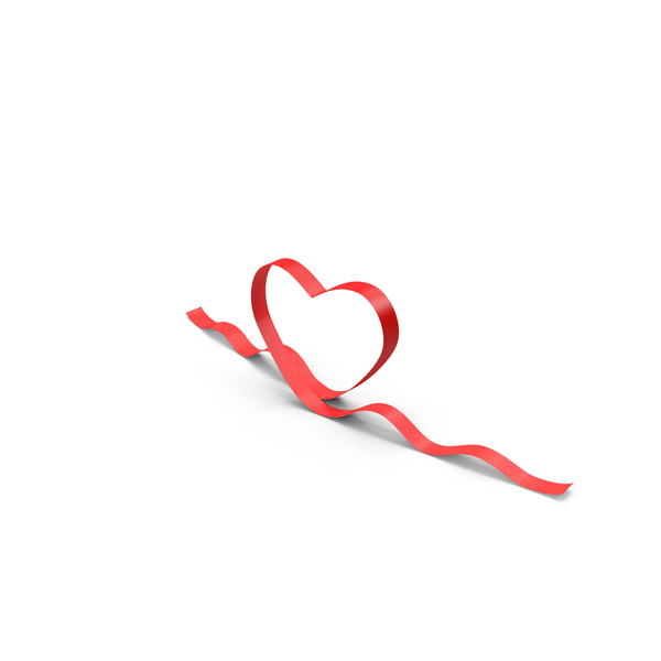 Ribbon Hearts Wavy Object