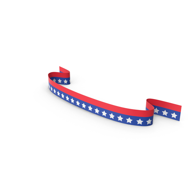 Ribbon USA PNG & PSD Images