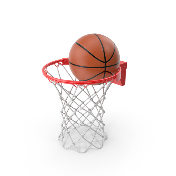 Basketball: Rim with Ball PNG & PSD Images
