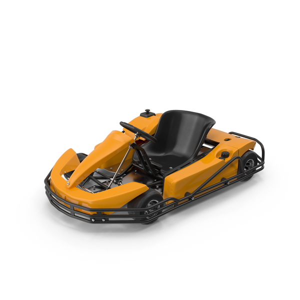 Go Cart: Rimo Orange Kart PNG & PSD Images