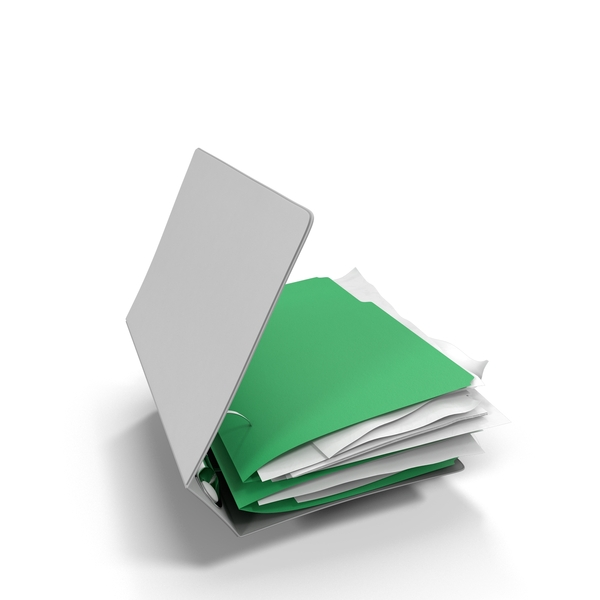 Binders: Ring Bound Folder PNG & PSD Images