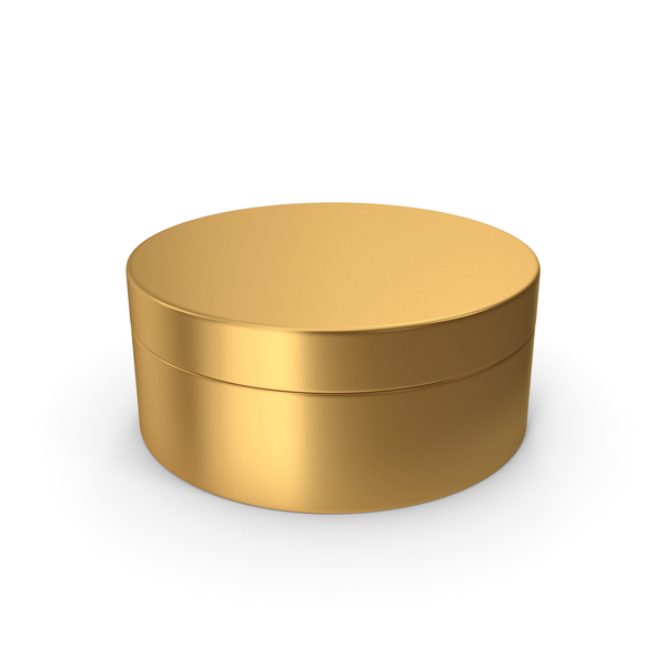 Jewelry: Ring Box Gold PNG & PSD Images