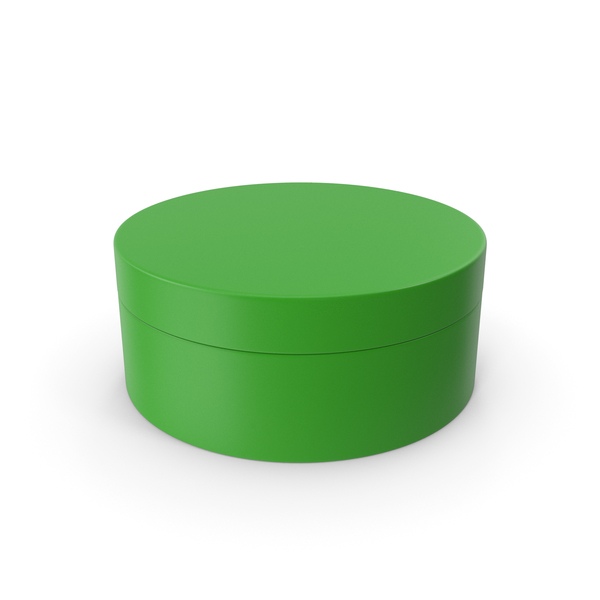 Jewelry: Ring Box Green PNG & PSD Images