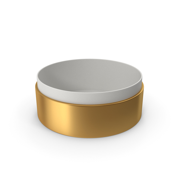 Jewelry: Ring Box No Cap Gold PNG & PSD Images