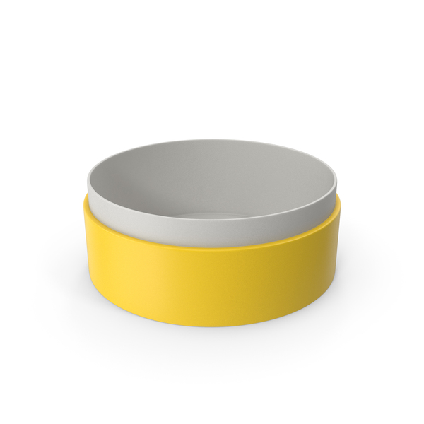 Jewelry: Ring Box No Cap Yellow PNG & PSD Images