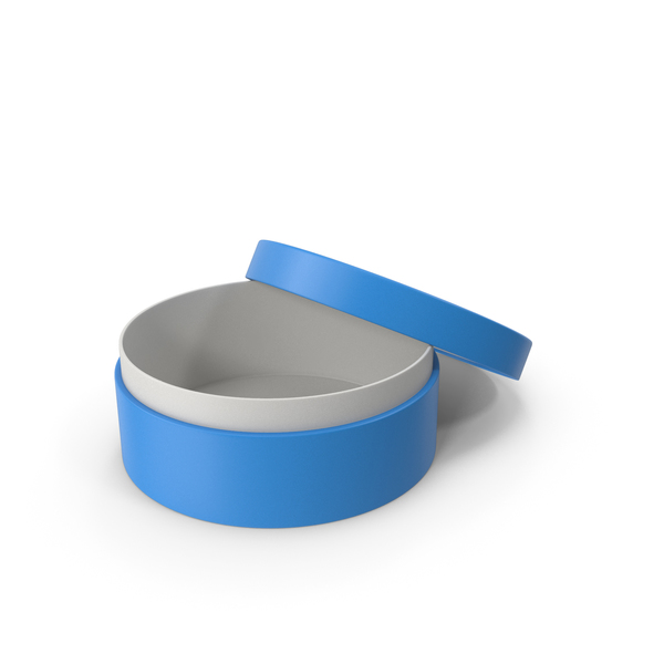 Jewelry: Ring Box Opened Blue PNG & PSD Images