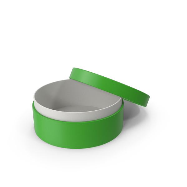 Jewelry: Ring Box Opened Green PNG & PSD Images