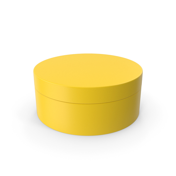 Jewelry: Ring Box Yellow PNG & PSD Images