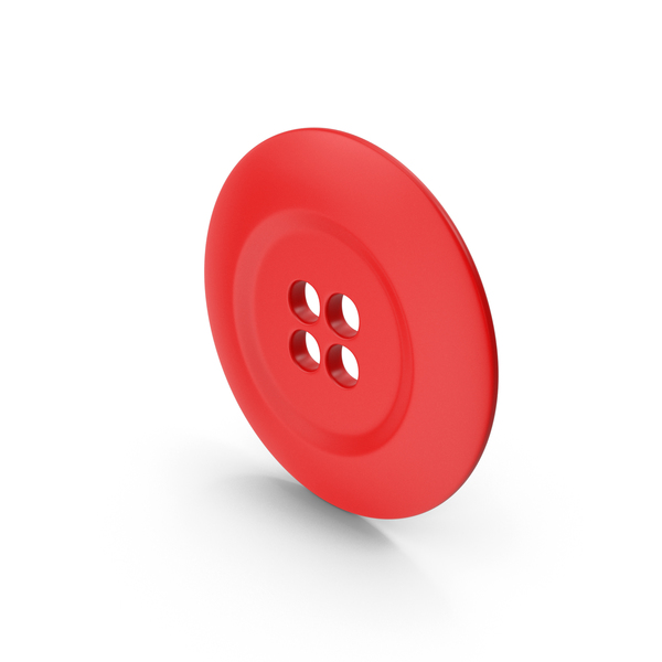 Ring Cloth Button Red PNG & PSD Images