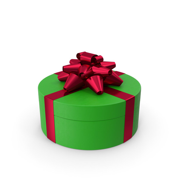 Bow: Ring Gift Box Green Red PNG & PSD Images