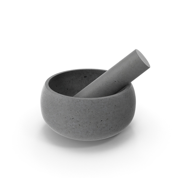 Rivet Stone Mortar Pestle PNG & PSD Images