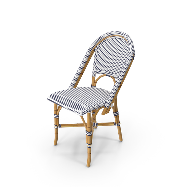 Riviera Wicker Side Chair Object