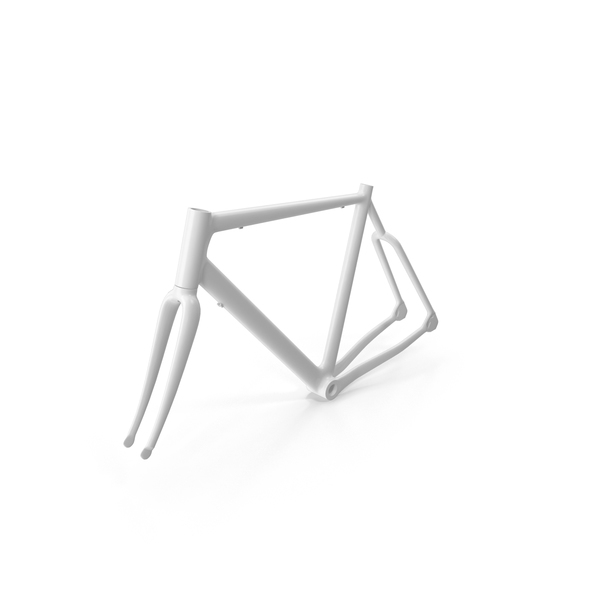 Bicycle: Road Bike Frame PNG & PSD Images