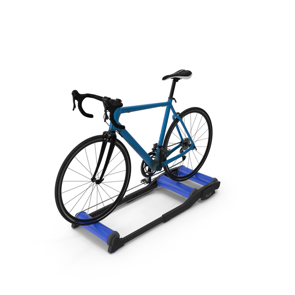 Exercise: Road Bike Riding Roller Trainer PNG & PSD Images