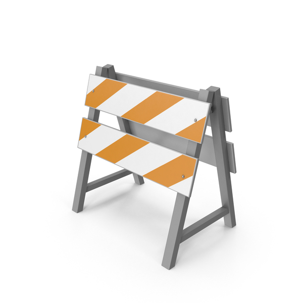 Road Construction Barrier PNG & PSD Images