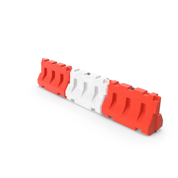 Road Safety Plastic Barricade PNG & PSD Images