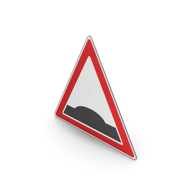 Road Sign Bump PNG & PSD Images