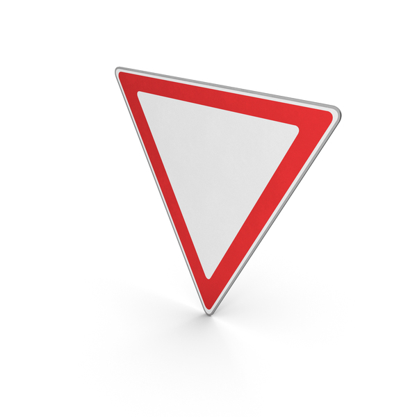 Road Sign Give Way PNG & PSD Images