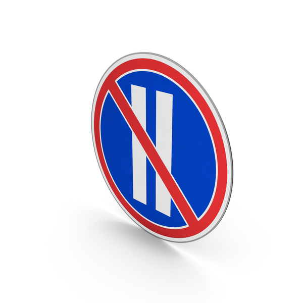 Road Sign No Parking On Even-Numbered Days PNG & PSD Images