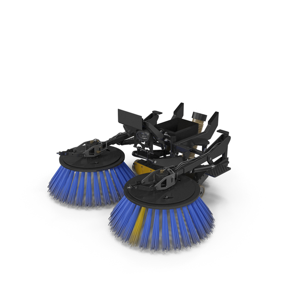 Road Sweeper Brushes Mechanism PNG & PSD Images